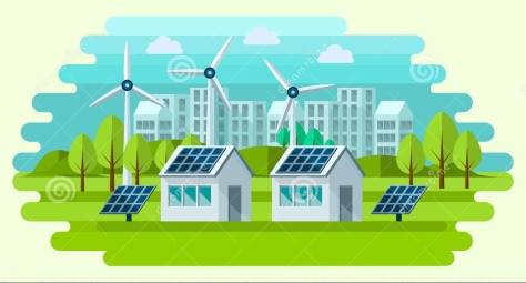 safe-green-energy-concept-flat-style-secure-clean-city-illustration-77126322